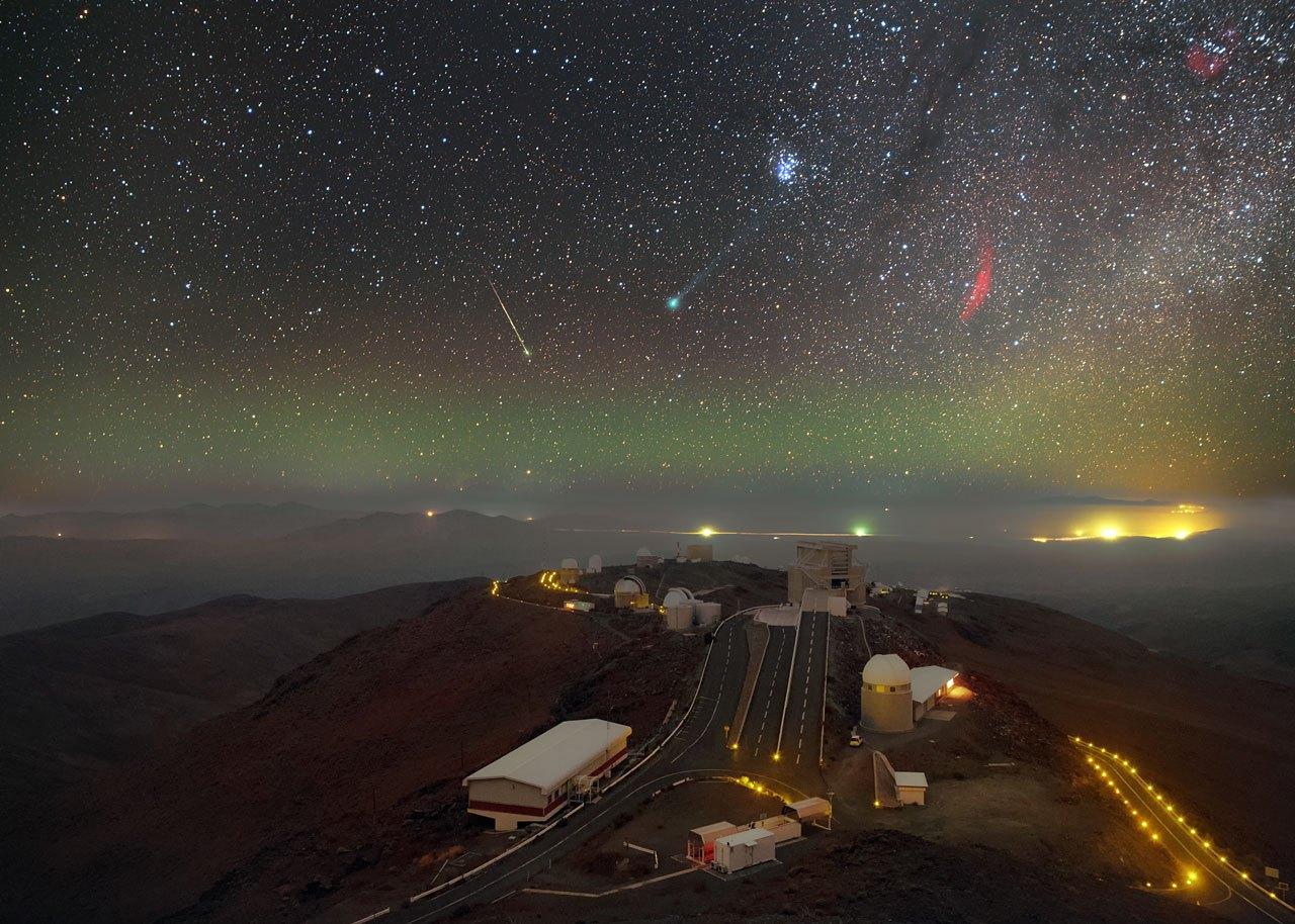 ظواهر فلكية رائعة من مرصد LA Silla