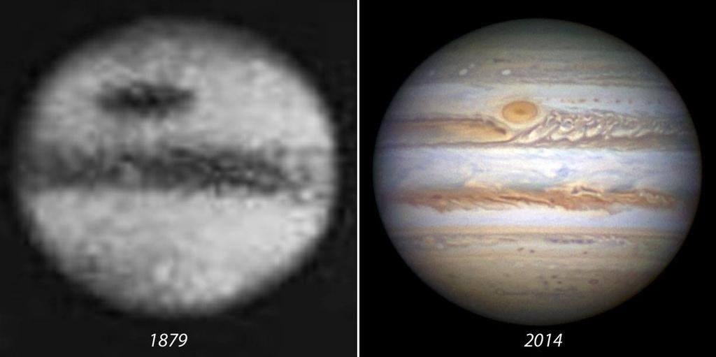 التطور الفلكي مابين 1879 و 2014 ..!!