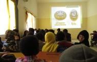 محاضرة فلكية بمدينة الزنتان بليبيا
