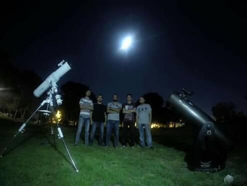 فريق رؤية طرابلس يقضي ليلتين داخل غابة تاجوراء