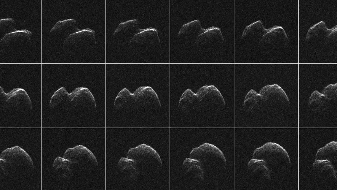صور للكويكب الذي سيمر بالقرب من الأرض