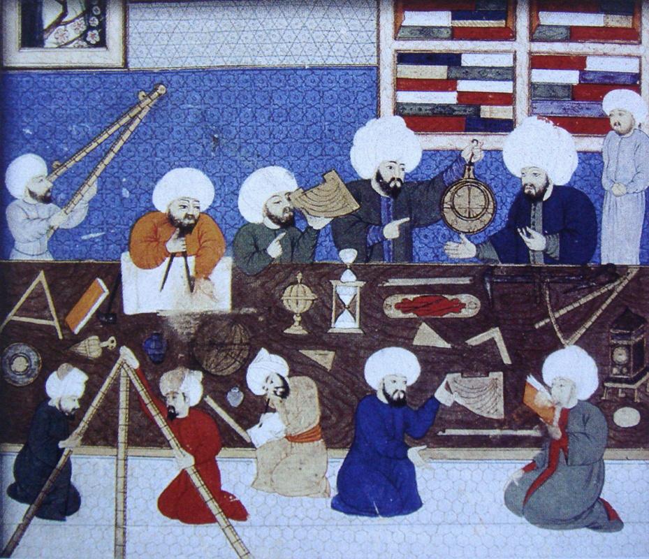 اسهامات علماء المسلمين في تقدم علم الفلك الحديث