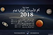 أهم الأحداث الفلكية لعام 2018